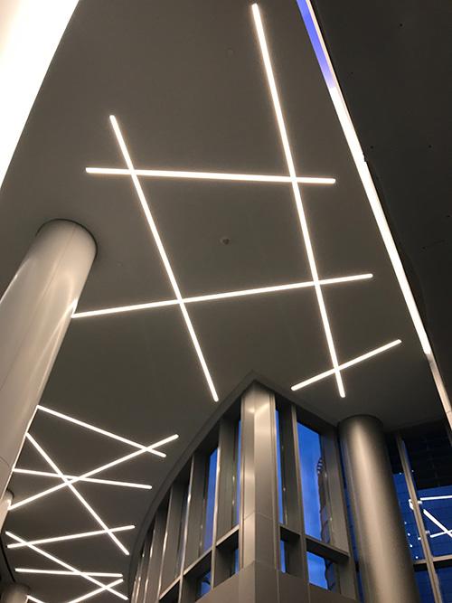 Dado Lights Up Capital One Headquarters